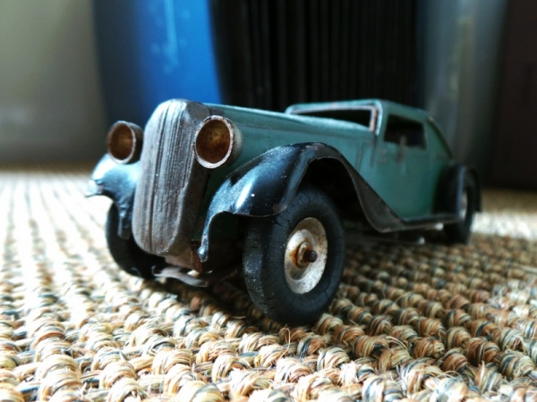 Vintage Toy Car ~ Explored #22